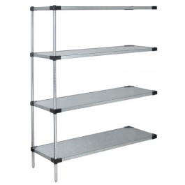 "63""H Solid 4-Shelf Add-On Kits"