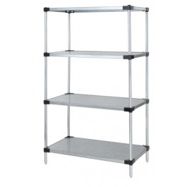 "86""H Solid 4-Shelf Starter Kits"
