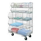 "48"" Mobile Stacking Baskets"