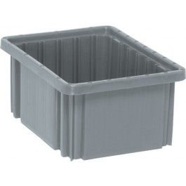 Dividable Grid Storage Containers DG91050 Gray