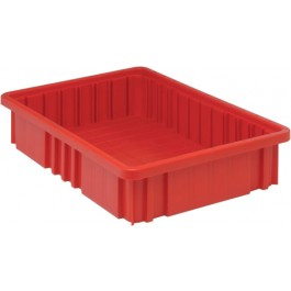 Dividable Grid Storage Containers DG92035 Red