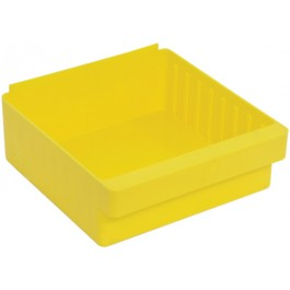 Plastic Storage Drawers QED801 Yellow