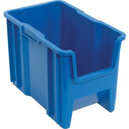 Stacking Plastic Storage Container QGH600 Blue