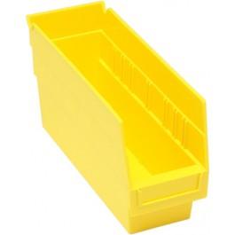 Plastic Shelf Bins QSB201 Yellow