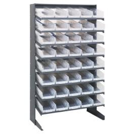 Clear Plastic Storage Bin Pick Rack Systems