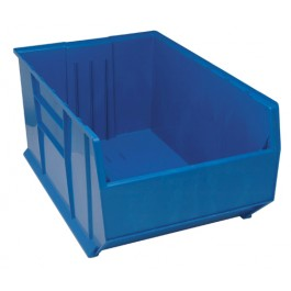 Pallet Rack Storage Containers Blue