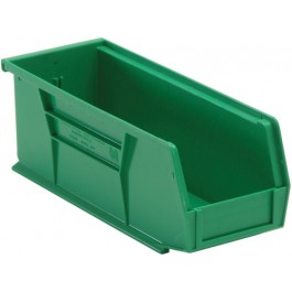 Plastic Storage Bin QUS224 Green