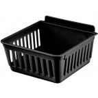 CrateBox Standard Black Plastic Bin