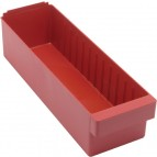 Plastic Storage Drawers QED602 Red