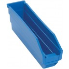 Plastic Shelf Bins QSB100 Ivory