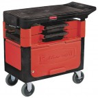 Trades Cart with Locking Cabinet