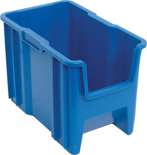 Plastic Medical Storage Container Stacking Plastic Storage Container QGH600 Blue ...  sc 1 st  Bin-Store.com & Stack u0026 Stock Plastic Medical Storage Containers - QGH600 | Bin ...