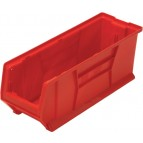 Plastic Stackable Storage Bins - QUS951 Red