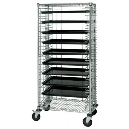 Conductive Systems Carts with ESD Trays