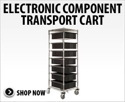 Electronic Component Transport Cart