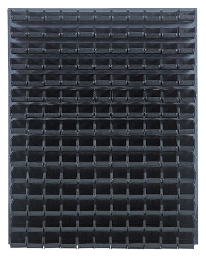 Wall Mount Louvered Panel With Plastic Bins Qlp 4861 220