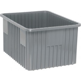 DG93120 Gray Dividable Grid Container