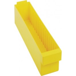 QED604 Yellow Plastic Drawer