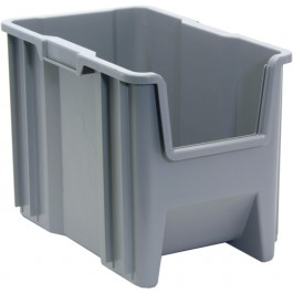 QGH600 Gray Plastic Container