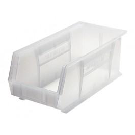 Clear Plastic Storage Bins - QUS248CL