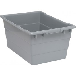 TUB2417-12 Gray Plastic Bus Tub