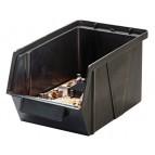 Conductive ESD Plastic Storage Bin with Parts